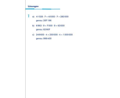 Fit fuer die Schule - UEbungsblock Mathematik ab der 3 Klasse-2