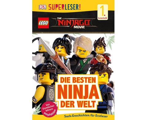 The LEGO NINJAGO Movie - die besten Ninja der Welt 1 Lesestufe