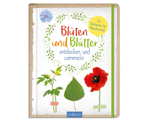 Blueten und Blaetter - entdecken und sammeln-1