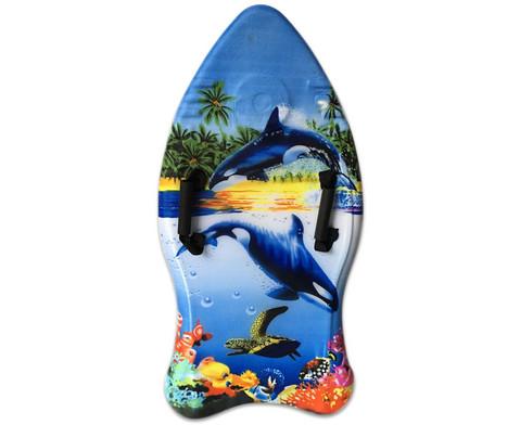 Schwimm- und Surfboard