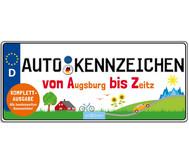 Autokennzeichen - Von Augsburg bis Zeitz