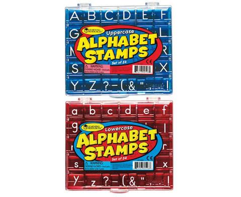 Alphabet-Stempel