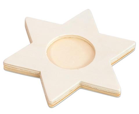 Betzold Teelicht-Stern 3 Stueck