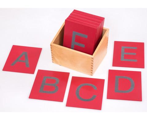 Betzold Fuehl- und Tastplatten Gross- und Kleinbuchstaben
