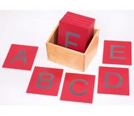 Betzold Fühl- und Tastplatten, Groß- und Kleinbuchstaben
