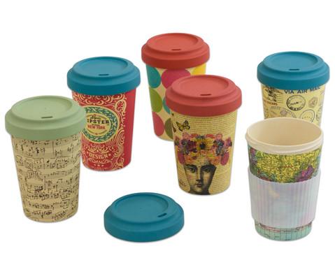 Kaffeebecher aus Bambusfaser-1