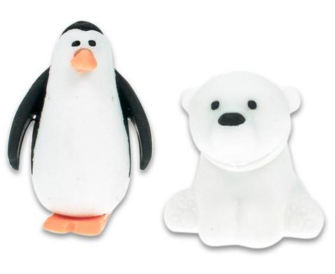 Radiergummi Eisbaer und Pinguin 2er-Set-2