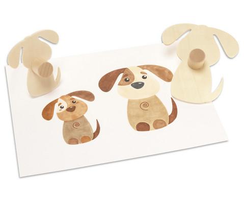 Holzschablonen Haustiere 8 Stueck-8
