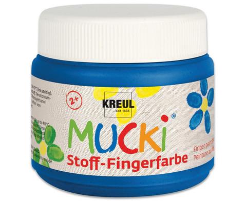 MUCKI Stoff-Fingerfarbe 4er Set-5