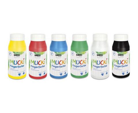 MUCKI Fingerfarben 6x750ml-1