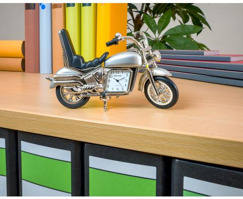 Design-Quarzuhr Motorrad mit Citizen-Uhrwerk-2