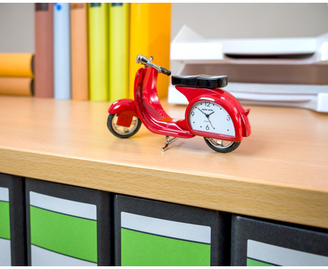 Design-Quarzuhr Vespa rot mit Citizen-Uhrwerk-5