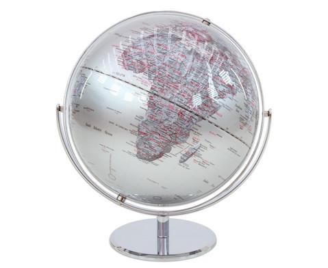 Globus Juri silver Hoehe 36 cm Durchmesser 30 cm-4
