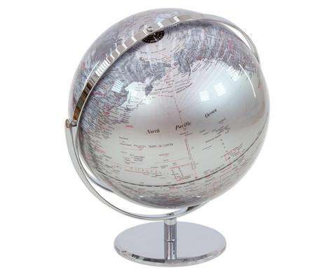 Globus Juri silver Hoehe 36 cm Durchmesser 30 cm-6