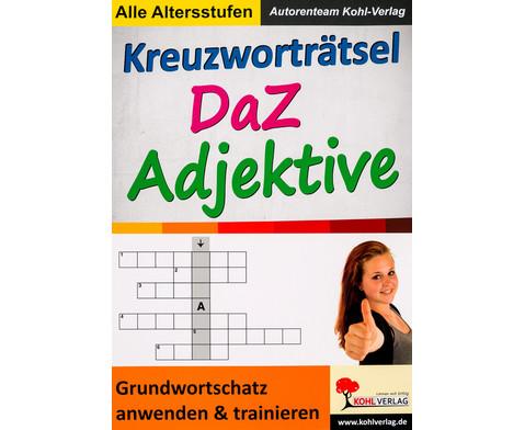 Kreuzwortraetsel DaZ Adjektive-1