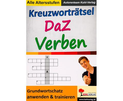 Kreuzwortraetsel DaZ Verben-1