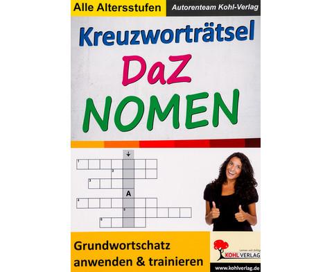 Kreuzwortraetsel DaZ Nomen-1