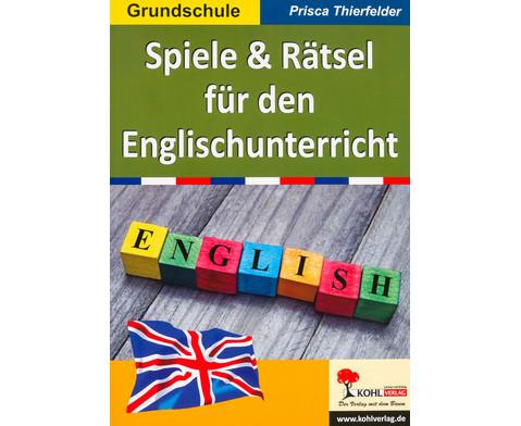 Spiele und Raetsel fuer den Englischunterricht
