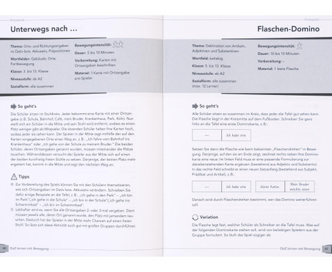 DaZ lernen mit Bewegung - 90 Spiele und UEbungen zur Grammatik-8
