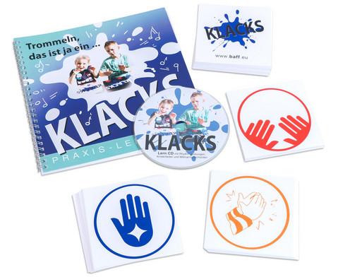 KLACKS Praxis Lehrbuch mit CD und Symbolkarten