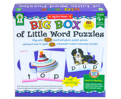 Big Box - Silbenlesespiel