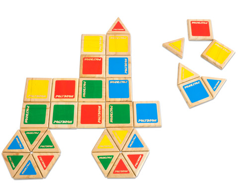 Magnetic Polydron Holz-3
