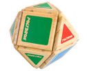 Magnetic Polydron Holz-4