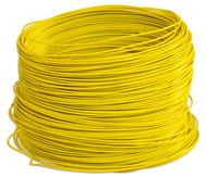 PVC-Schaltdraht, Rolle mit 100 m , gelb