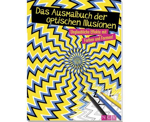 Das Ausmalbuch der optischen Illusionen-1