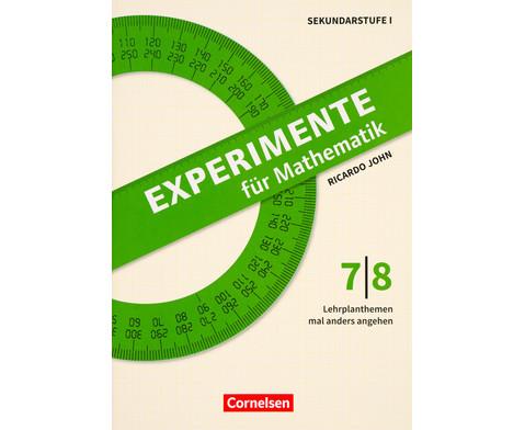 Experimente fuer Mathematik Klassen 7-8-1