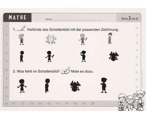 Wisch-und-weg-Karten - Mathematik-6