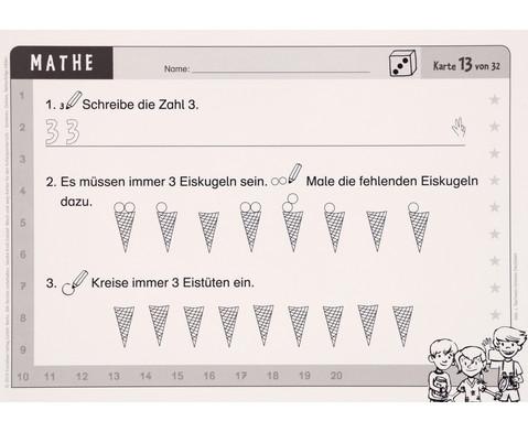 Wisch-und-weg-Karten - Mathematik-8