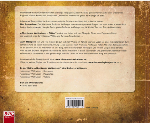 Abenteuer Weltwissen - Ritter inkl CD-2