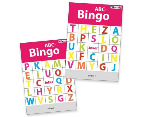 Betzold ABC-Bingo