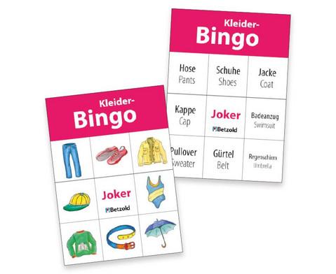Betzold Kleider-Bingo