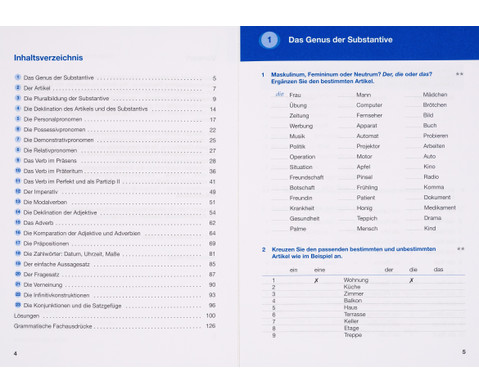 Grammatiktraining - Deutsch als Fremdsprache-2