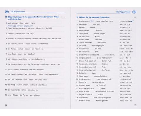 Grammatiktraining - Deutsch als Fremdsprache-4