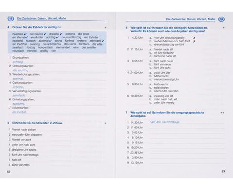 Grammatiktraining - Deutsch als Fremdsprache-6