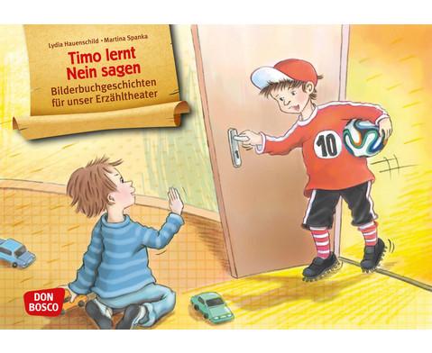 Bildkarten Timo lernt Nein sagen-1