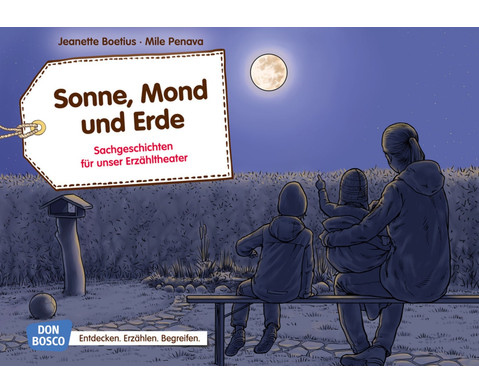 Bildkarten Sonne Mond und Erde