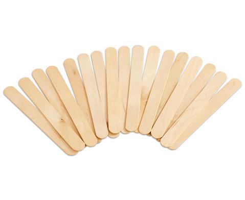 Betzold Holzstaebchen natur 100 Stueck