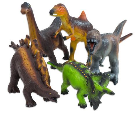 Dinosaurier Soft-Tier-Set Naturkautschuk