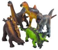 Dinosaurier Tier-Set, Naturkautschuk