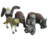 Nordamerikanisches Tier-Set, Naturkautschuk