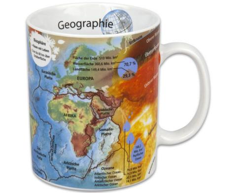Tasse Geographie