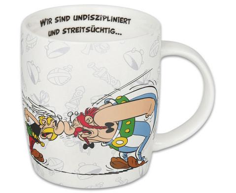 Kaffeebecher Asterix aber wir lieben-1