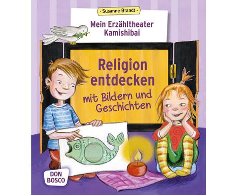 Religion entdecken mit Bildern und Geschichten
