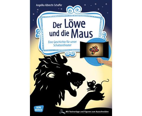 Der Loewe und die Maus - Schattentheater-Set