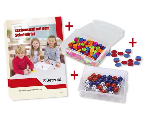 Betzold Rechenspass mit dem Schulwuerfel - Komplett-Set