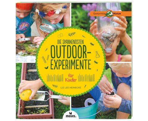 Die spannendsten Outdoor-Experimente fuer Kinder